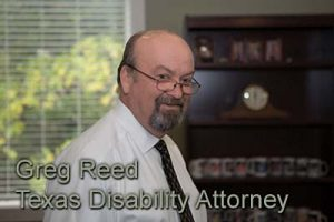 Greg Reed Social Security Denied appeal lawyer