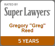 Greg Reed Super Lawyer 5 years