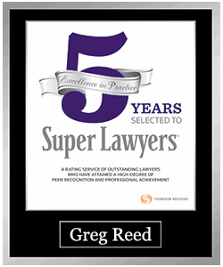 Greg Reed SuperLawyer