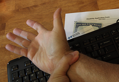Carpal Tunnel Syndrome disability
