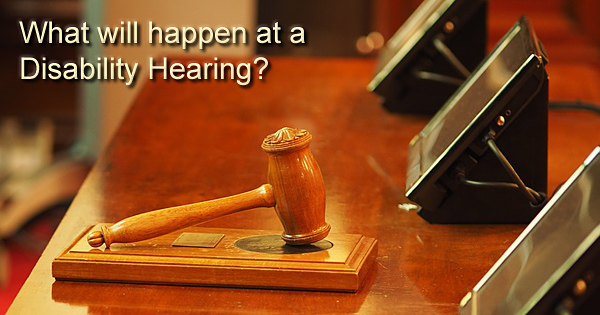 Disability hearing