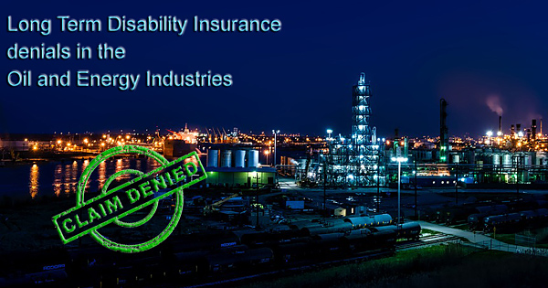 oil and gas disability denied