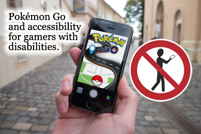 Pokémon for people with disabilities.