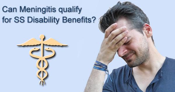 meningitis disability benfits