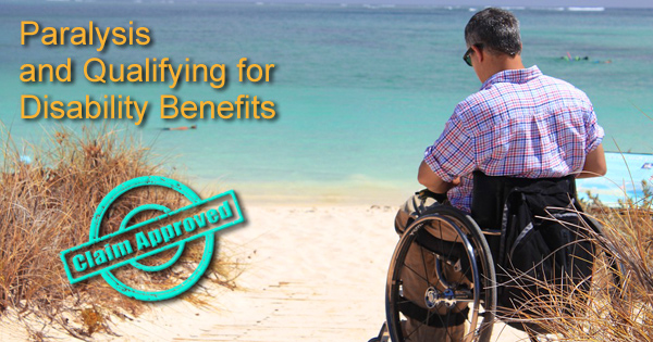 Paralysis and Qualifying for SS Disability Benefits