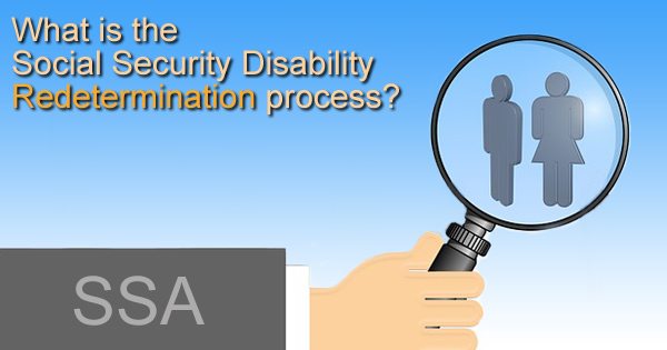 redetermination review ssdi