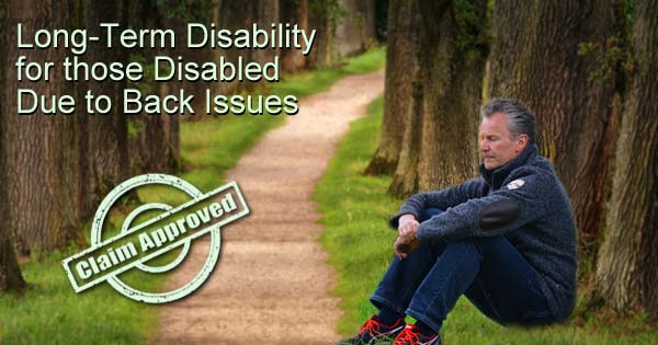 disability help for back issues