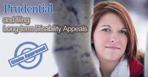 prudential disability denied