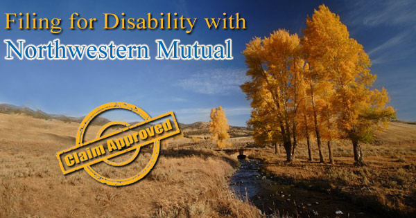 Filing Disability with Northwestern Mutual