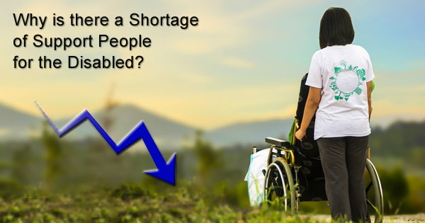 Why is it so hard to hire and keep support professionals for the disabled?