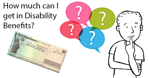 How much in disability benefits can I receive?