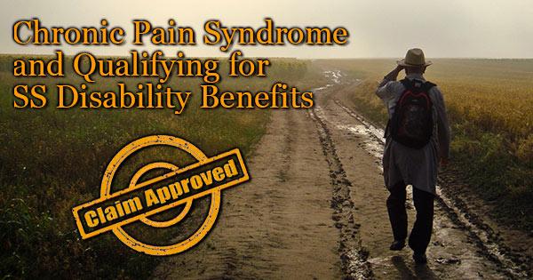 Chronic Psain disability