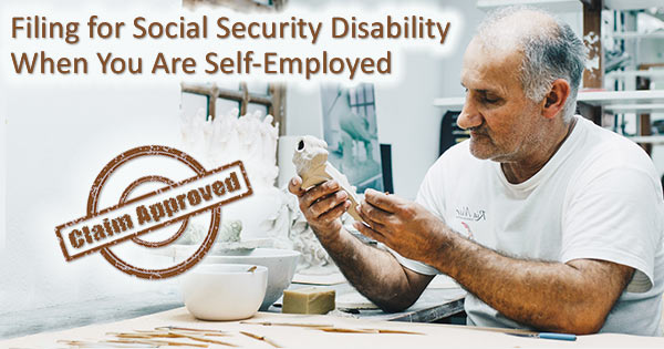 self employed disability