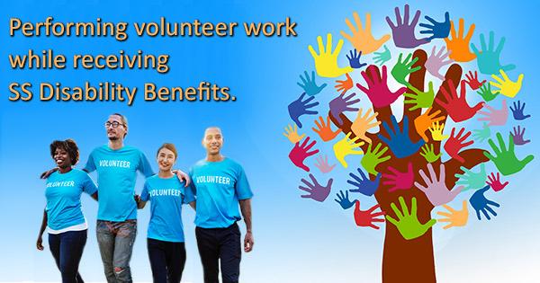 Volunteer work disability