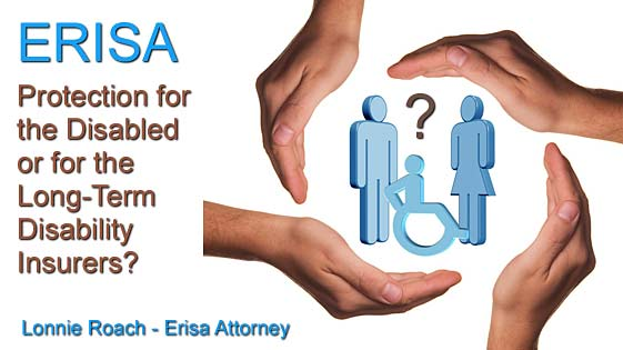 ERISA lawyer disability