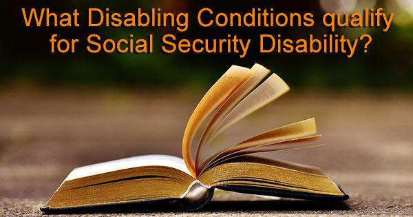 disabling diseases SS