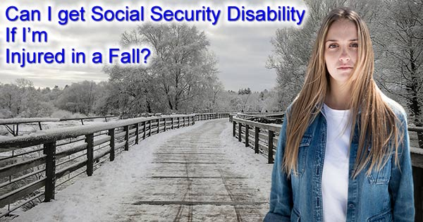 Disability for falls