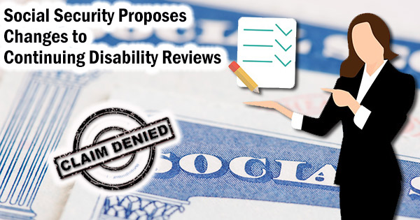 Continuing disability reviews
