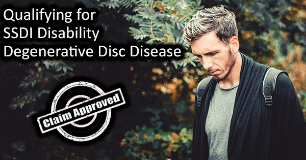 disc disease disability
