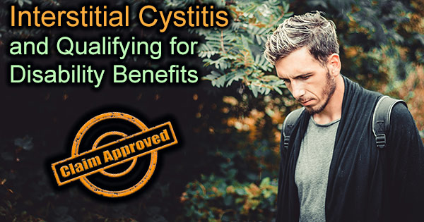 Interstitial Cystitis disability