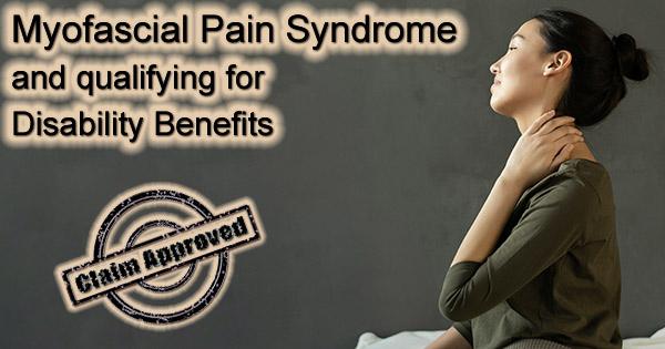 Myofascial Pain Syndrome Disability