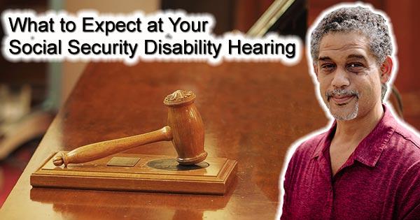 SSDi appeal hearing