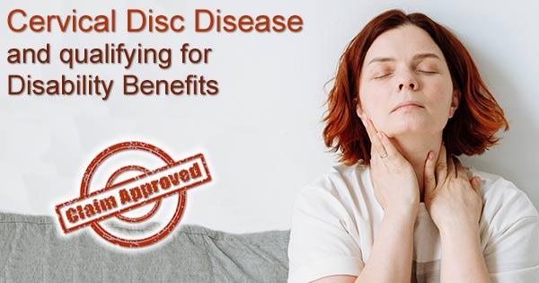 disc disease disability