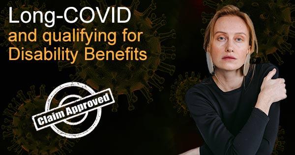 Long covid disability